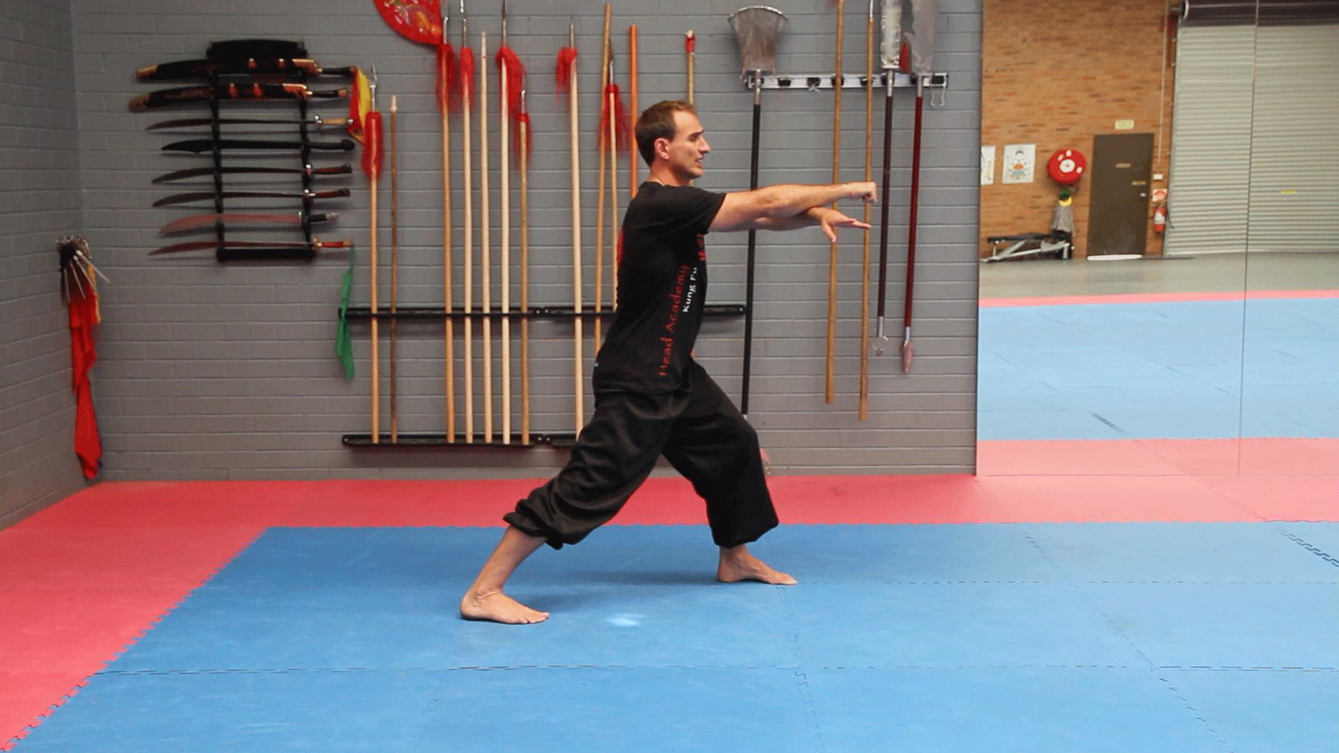 Jow Gar Kung Fu Empty Hand Form Closing