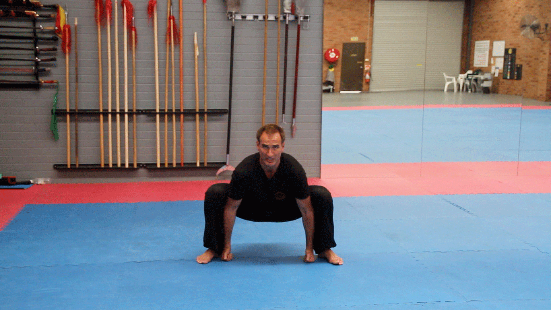 Sumo – Groin Stretch